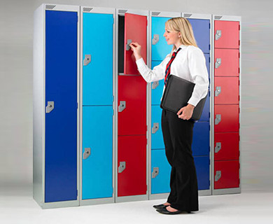1 Metal lockers